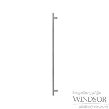 Windsor Brass Entrance Pull Handles Round Profile 316 Ss