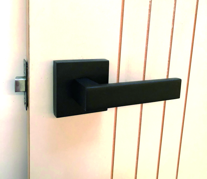 Htl01blk lever set matt black handles plus for Traditional kitchen handles nz